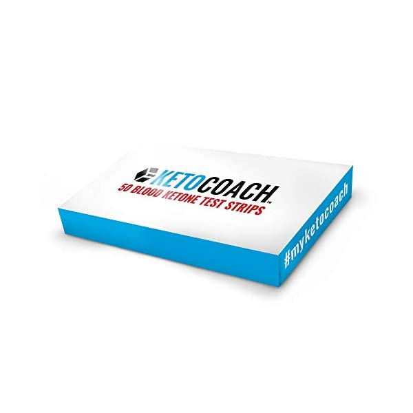 buy  KetoCoach Blood Ketone Strips (50 Pack) – ... Blood Glucose Monitors