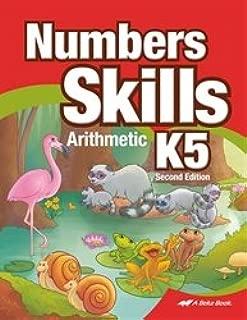 number skills k5 abeka