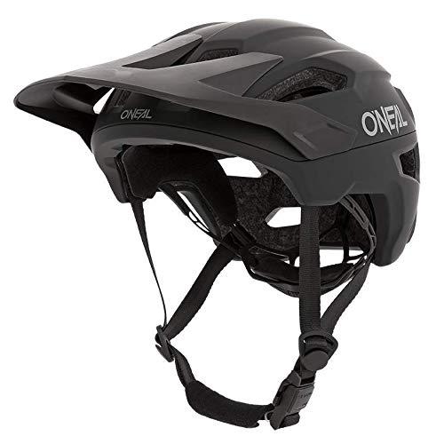 O'NEAL | Mountainbike-Helm | Enduro All-Mountain | Lüftungsöffnungen zur Belüftung & Kühlung Größenverstellsystem, Sicherheitsnorm EN1078 | Helmet Trailfinder Solid | Erwachsene | Schwarz | Größe S/M