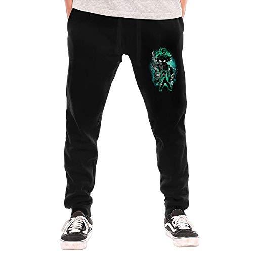 Boku No Hero Academia – Iida Tenya – Pantalón largo con bolsillo para hombre, Deku Midoriya Izuku, XL