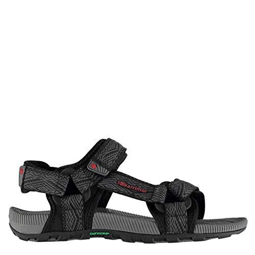 Karrimor Hombre Sandalias Deportivas con Velcro Amazon Negro/Carbón EUR 44 2/3