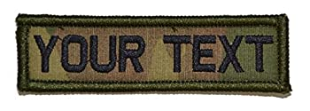 Customizable Text 1x3 Patch w/Hook Fastener Patch - Multicam