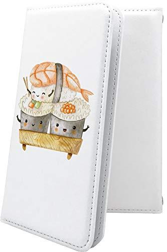 スマートフォンケース・jetfon P6 / jetfon マルチタイプ マルチ対応ケース・互換 ケース 手帳型 キャラクター キャラ キャラケース お寿司 寿司 ごはん ジェットフォン かわいい 可愛い kawaii lively jet fon jetfone jetfonp06 食べ物 米 お米 海苔 のり ご飯