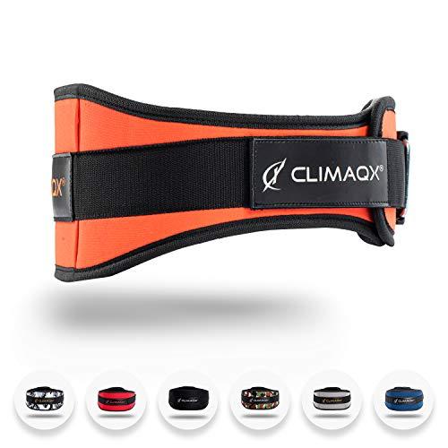 Climaqx Gewichthebergürtel Extrem leicht & sehr robust - Gewichthebegürtel für Fitness, Bodybuilding, Crossfit