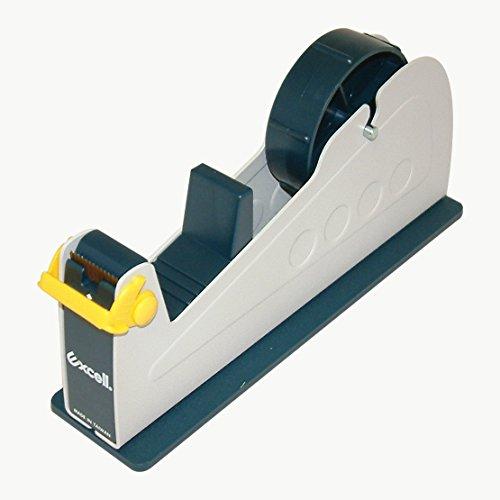 "excell EX-17/1IN JVCC EX-17 Steel Desk Top Tape Dispenser: 1"" Wide, Blue/Grey"