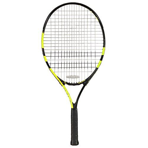 Babolat Nadal Jr 25 Raqueta de Tenis, Unisex niños, Negro/Amarillo, 0