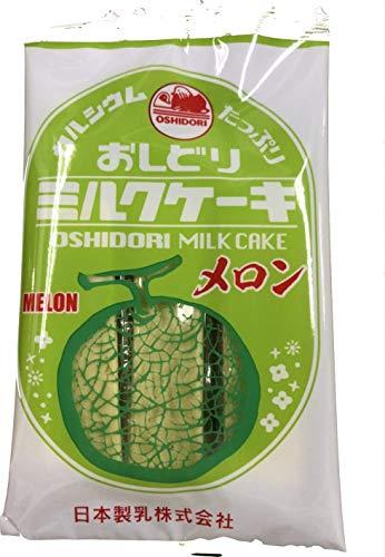 日本製乳 おしどりミルクケーキ メロン 9本×10袋