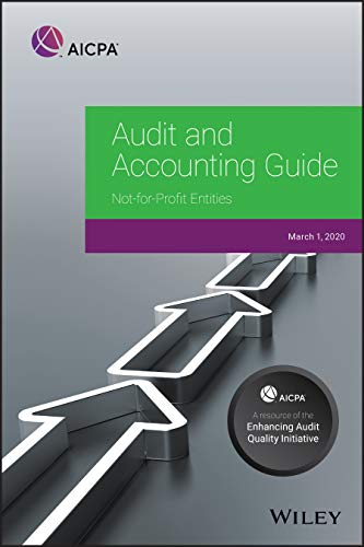 Compare Textbook Prices for Audit and Accounting Guide: Not-for-Profit Entities 2020 AICPA Audit and Accounting Guide 1 Edition ISBN 9781950688319 by AICPA