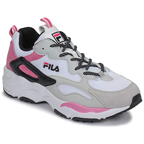 FILA Ray Tracer CB wmn Sneakers dames Wit/Roze - 36 - Lage sneakers