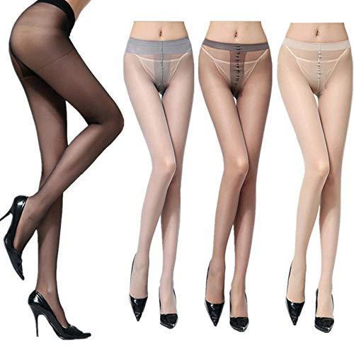 Home+Strapsstrümpfefrauen Socks_Spring Super Dünne Strümpfe Strumpfhosen Frauen Socken Sexy Core Silk 2 Sätze @Gray_Nylon_ (OPP_Bag)