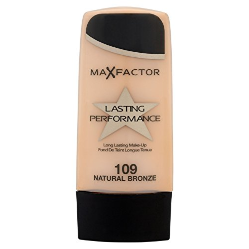 3 x Max Factor Lasting Performance 109 Natural Bronze 35ml