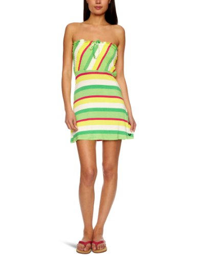 Roxy Damen Kleid Laguna Stripes, gemini laguna s, 48-50 (XL), XMWDR361-