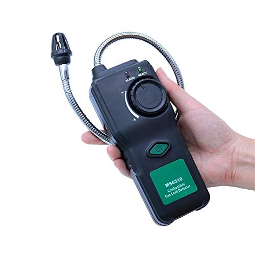 no-branded MS6310 Tragbare brennbare Gas-Leck-Detektor-Prüfvorrichtung-Messinstrument Propan Natural Gas Analyzer mit Ton Licht Alarm XXYHYQHJD