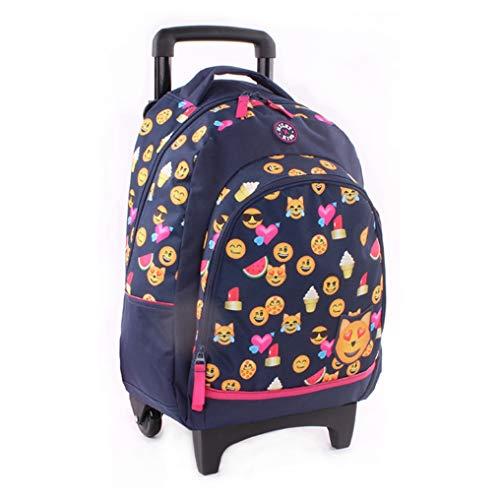 Milky Kiss Trolley Backpack Mixed Feelings Kinder-Rucksack, 45 cm, Blau (Navy Blue)