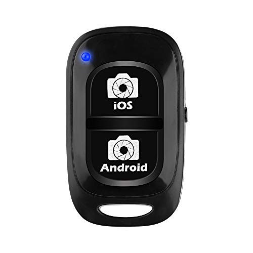 Bluetooth Camera Remote Shutter for Smartphones, UBeesize Wireless Camera Remote Control Compatible with iPhone/Android Cell Phone - Create Amazing Photos and Selfies