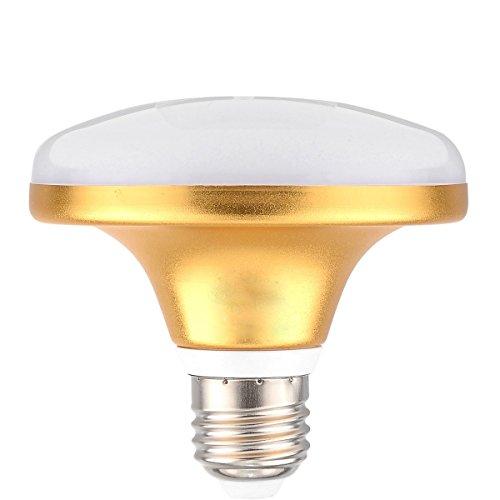 Bombillas E27 / E26 12W 24LED 5730SMD 1000-1100 LM Blanco cálido Blanco frío Lámpara UFO CA 220-240V Cambiar la bombilla LED (Size : Warm White)