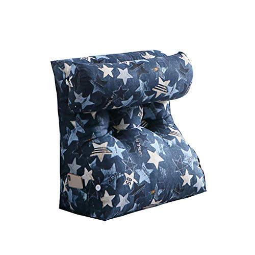 WXJHA Multifunctional Backrest Graffiti Cushion Removable Bedside Back Cushions Tatami Support Cushion Lumbar Support Pillow 45Cm * 55Cm * 30Cm