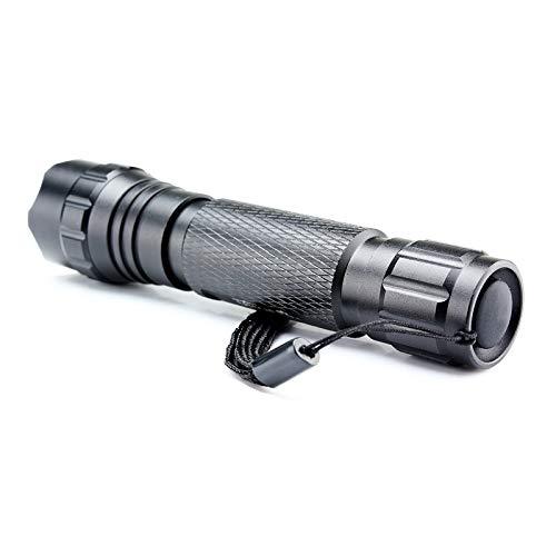 Wf-501b 3 W 200Lumen UV Ultraviolet Luxeon Portable Poche Torche LED Lampe de poche Handtorch NEUF fin Mini Petite lampe de poche pour l'extérieur Maison
