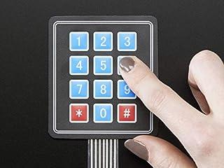 Adafruit Membrane 3x4 Matrix Keypad + Extras [ADA419]