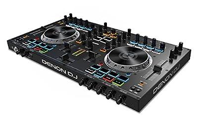 Denon DJ MC4000 | Premium 2-Channel DJ Controller with Serato DJ Lite download (24-bit / 48 kHz) from inMusic Brands Inc.