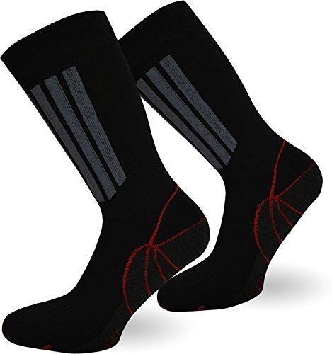 normani 5 Paar X-Static Socken mit Silberfäden & Coolmax - gegen Fußgeruch (Sport und Funktion) Größe 39/42