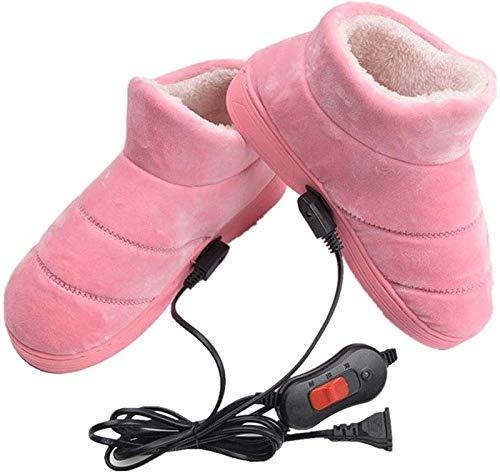 LONG-M Calentador De Pies para El Hogar, Zapatos De Calefacción, Alivio En...