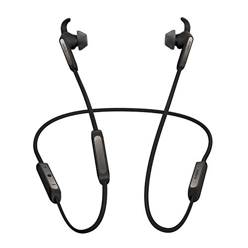 Jabra Elite 45e Alexa Enabled Wireless Bluetooth in-Ear Headphones – Titanium Black (Renewed)