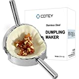 Best Empanada Makers - COTEY 6 Inch Empanada Press, Large Stainless Steel Review