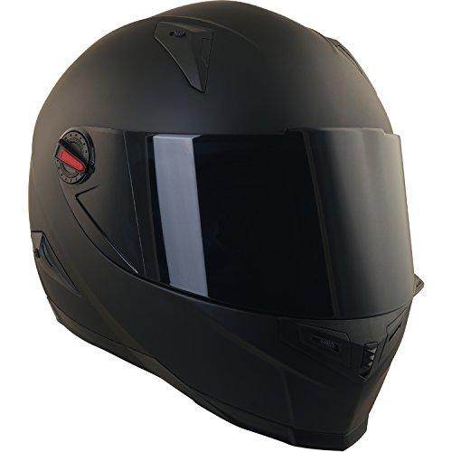 Broken Head BeProud Helm | Motorradhelm Set inkl. Schwarzem Visier – Integralhelm – Karthelm – Nakedbike schwarz-matt S (55-56 cm) - 3