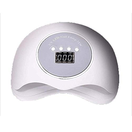 Appareil de photothérapie à ongles Nail Dryer-UV Nail Lamp LED pour le capteur de polissage de gel à cristaux liquides