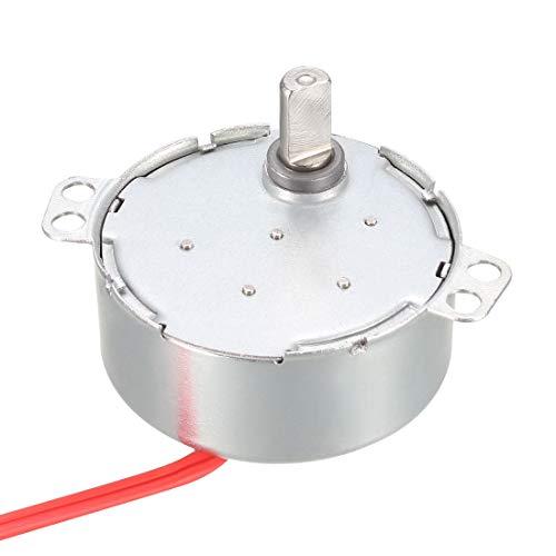 sourcing map Synchronmotor elektrischer Motor AC 12V für Mikrowelle 5-6 U/min
