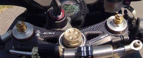 PROTEZIONE gel 3D PIASTRA FORCELLA compatibile MOTO KAWASAKI ZX-10R 2004-2005