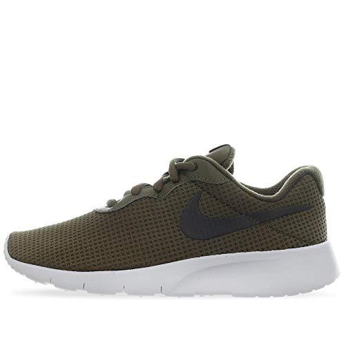 Nike Tanjun (GS), Zapatillas de Deporte Hombre, Multicolor (Olive Canvas/Sequoia/White 302), 38 EU