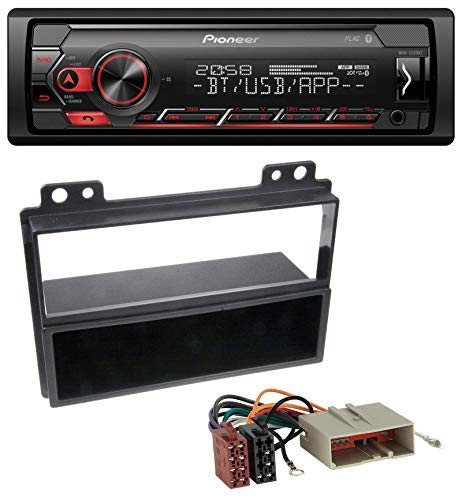 caraudio24 Pioneer MVH-S310BT Bluetooth AUX MP3 USB Autoradio für Ford Fiesta 03-05 Fusion 02-05