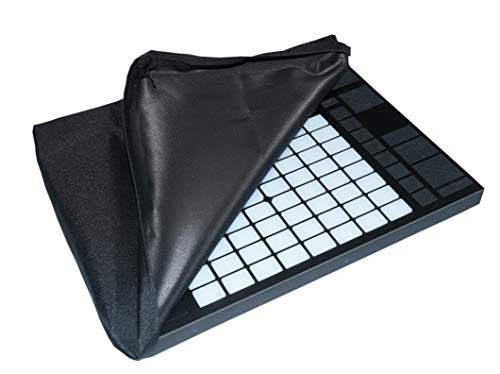 Ableton Push 2 Controller Dust Cover Protector [Water Resistant, Antistatic, Black Premium Fabric] by DigitalDeckCovers