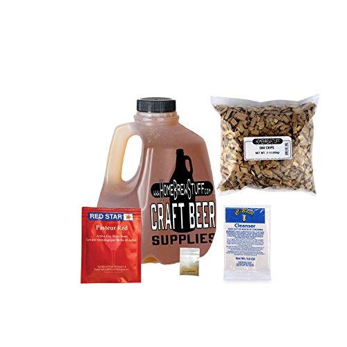HomeBrewStuff Delux 1 Gallon Nano-Meadery Honey Mead Recipe Refill Kit (Oak and Vanilla)