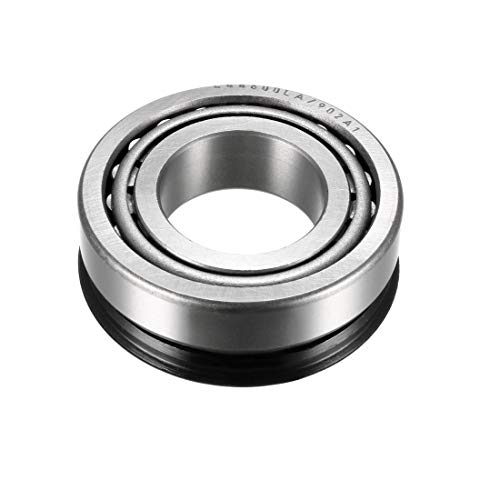 uxcell L44600LA-902A1 Tapered Roller Bearing Cone and Cup Set 1-inch Bore 1.98-inch O.D.