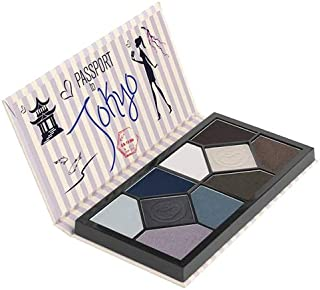 Coastal Scents Passport to Tokyo Eyeshadow Palettes - Multi Color, 15.2 gm