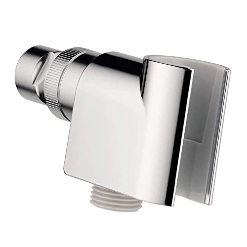 hansgrohe Robust Construction Handheld Shower Head HolderModern in Chrome, 04580000