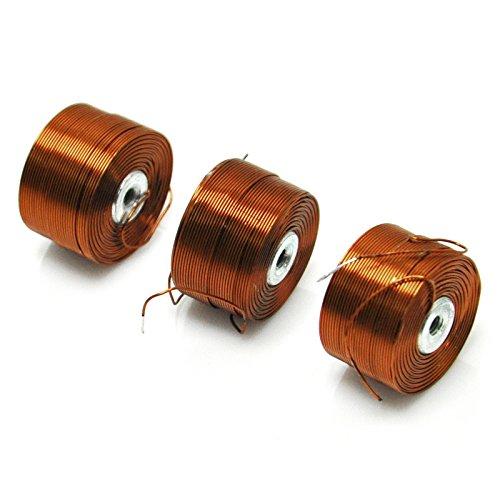 Gikfun - Bobina a levitazione, di filo di rame magnetico, con nucleo di ferro, per arduino fai da te (confezione da 3 pezzi), EK1909U