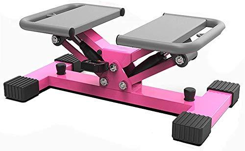 TYX-SS Stepper Idraulico Per Fitness, Allenatore Per Esercizi Cardio Stepper Per Uomini E Donne, Monitor E Bande Di Resistenza Per Esercizi Stepper