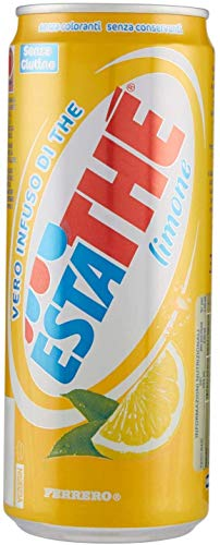 48x Ferrero Eistee Zitrone The' Limone Dose 330 ml ESTATHE tea the erfrischend