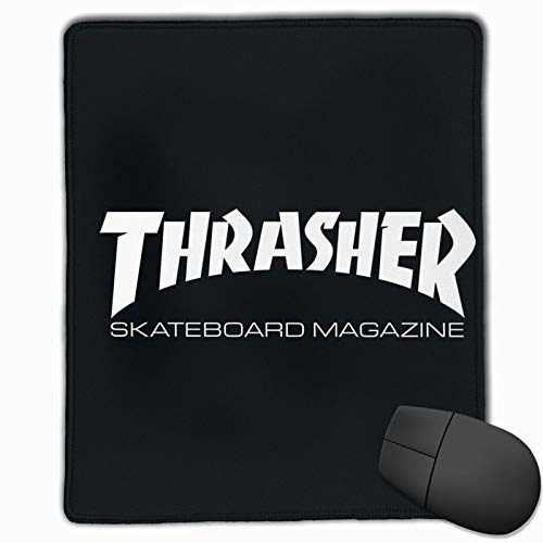 Thrasher Office Mouse Pad Gaming Mouse Pad Non-Slip Rubber Backing Pad