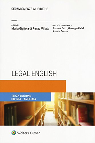 Legal english [Lingua inglese]