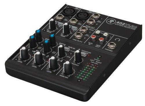 Mackie 24877 402-VLZ4 4-Channel Ultra Compact DJ Mischer