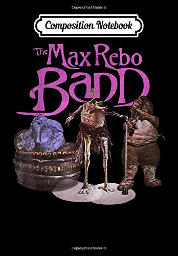 Composition Notebook: Star Wars The Max Rebo Band Vintage 70's Epic Rock, Journal 6 x 9, 100 Page Blank Lined Paperback Journal/Notebook