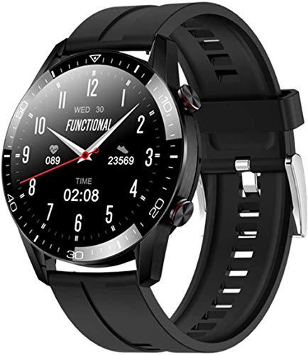 wyingj Reloj inteligente para hombre y mujer IP67 Fitness Tracker podómetro Deportes Smart Watch-D