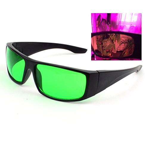UV400 Indoor LED Grow Light Room Glasses Anti UV IR and red Lights Protective Goggles against UV
