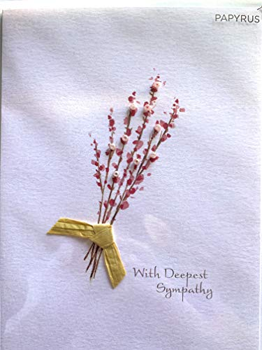 PAPYRUS Everyday Card, Sympathy card - With Deepest Sympathy