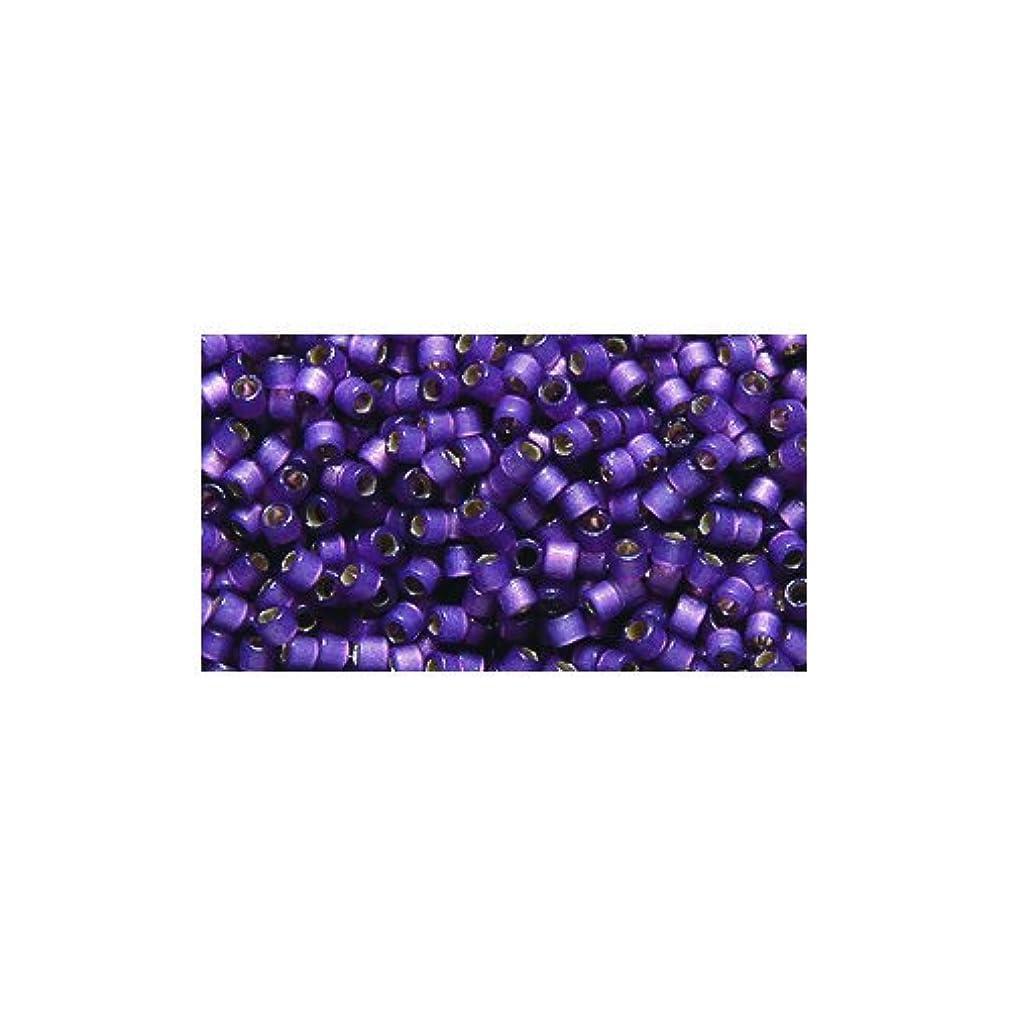Miyuki Delica Seed Bead 11/0 DB2182, Duracoat Silver Lined Lilac Satin, 9-Gram/Pack
